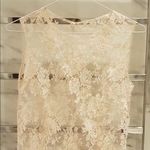 Dolce lace pink blouse